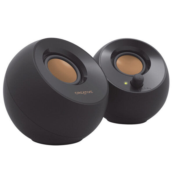Creative Pebble 2.0 USB-Powered Desktop Speakers with Far-Field Drivers Singapore