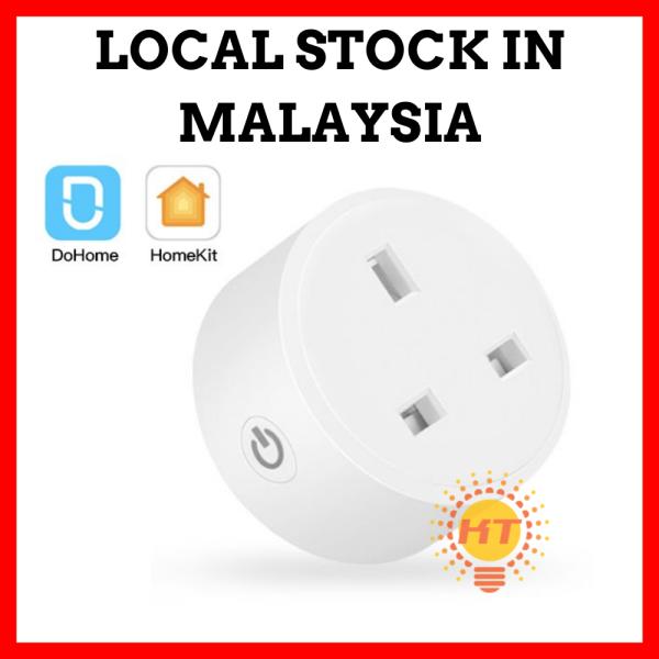 DoHome Wifi Smart Plug Compatible with Apple HomeKit Socket Outlet Switch Home APP Alexa/Google Assistant Timer UK Plug