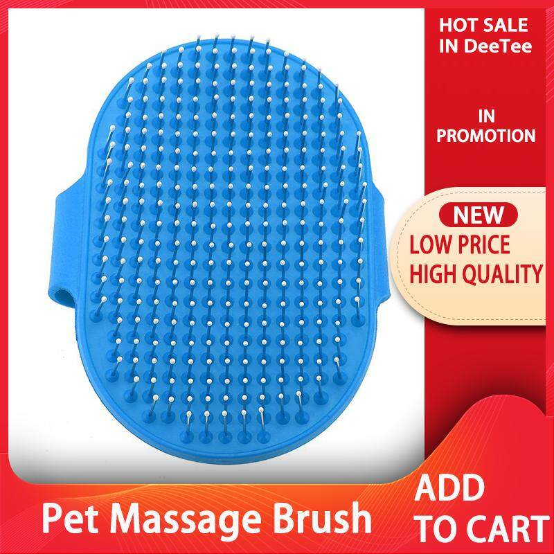 Round Silicone Pet Bathing Hair Grooming Cleaning Massage Brush Dogs Cats Comb Supplies By Deetee Shop.