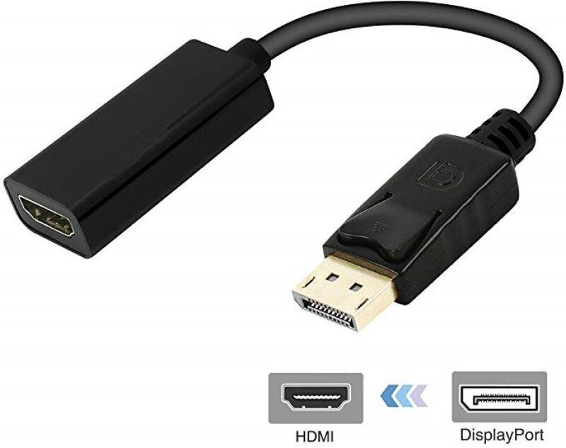 Bảng giá Hiển Thị Dp Cổng HDMI Đầu Đực Dây Cáp Adapter Chuyển Đổi Phong Vũ