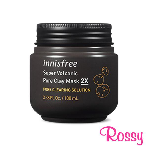 Buy Innisfree Super Volcanic Pore Clay Facial Mask 2X 100ml Singapore
