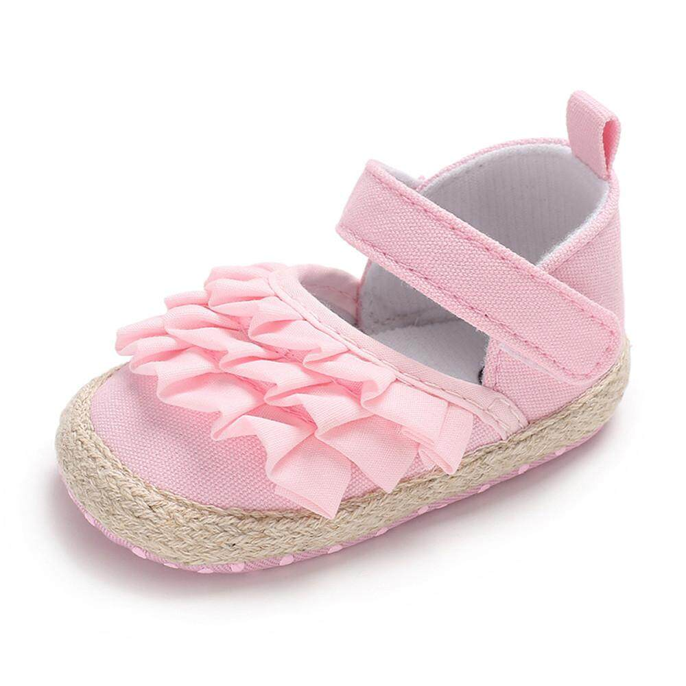 Rayeshop Infant Newborn Baby Baby Girls Shoes Cartoon Soft Crib Anti-Slip Single Sneaker【reference Size Chart】 By Rayeshop.