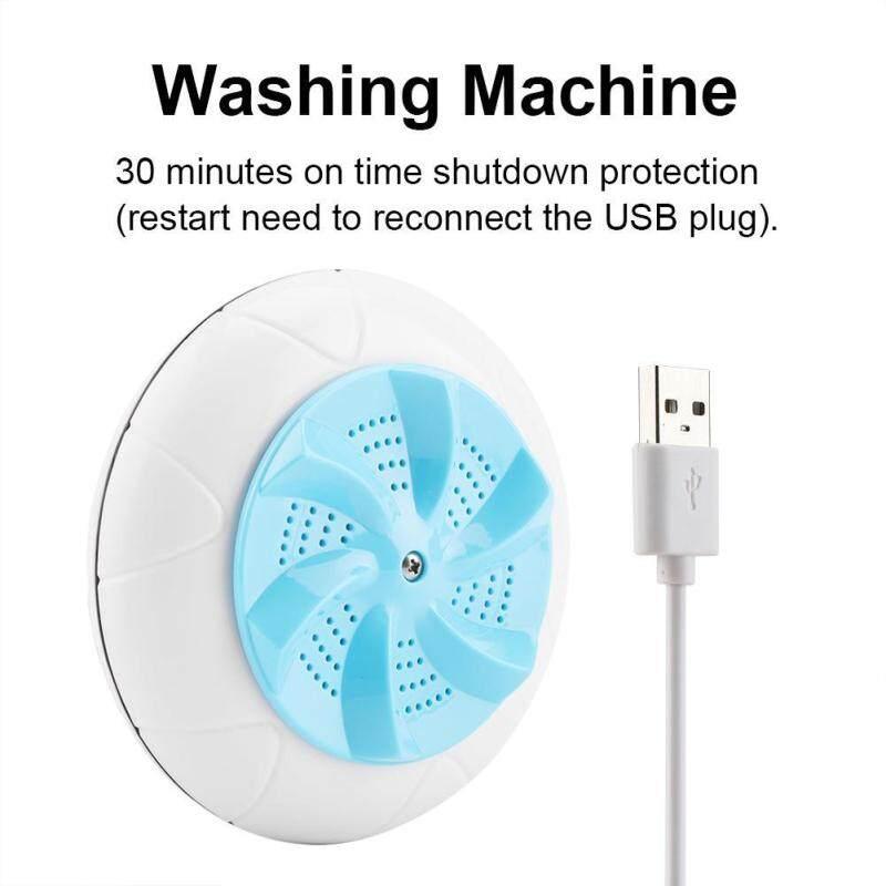 Mini Di động Giặt Bằng Sóng Siêu Âm Máy Du Lịch Giặt Máy Giặt Rửa Dụng Cụ Vệ Sinh