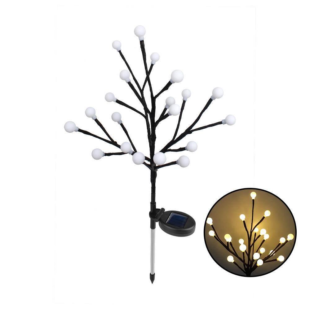 Aolvo Solar Power Ball Tree Light, Smart Light Control, Manual Dimming LED Light for Outdoor Garden Decor