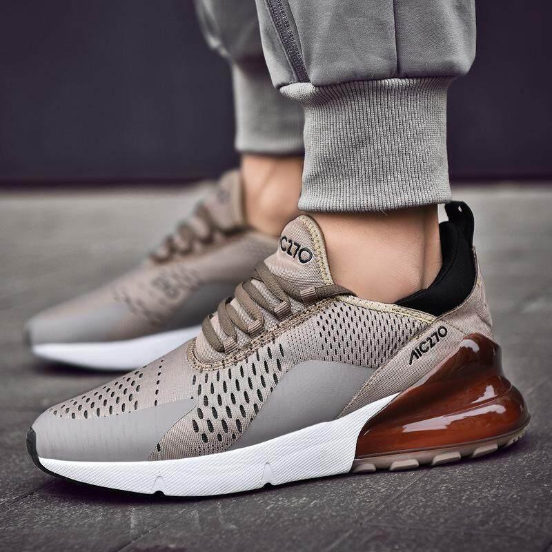 Mùa xuân năm 2019 Mới Giày 270 người mùa hè Chạy Bộ người đàn ông cho người lớn Huấn Luyện Viên Buộc Dây Ngoài Trời Thể Thao Thoải Mái Thể Thao giày
