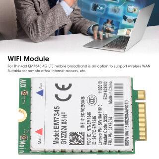 Card Mạng Không Dây Cho Mô-đun 4G Lenovo EM7345 LTE FRU 04X6014 T450 X250 X240 T440L440 thumbnail