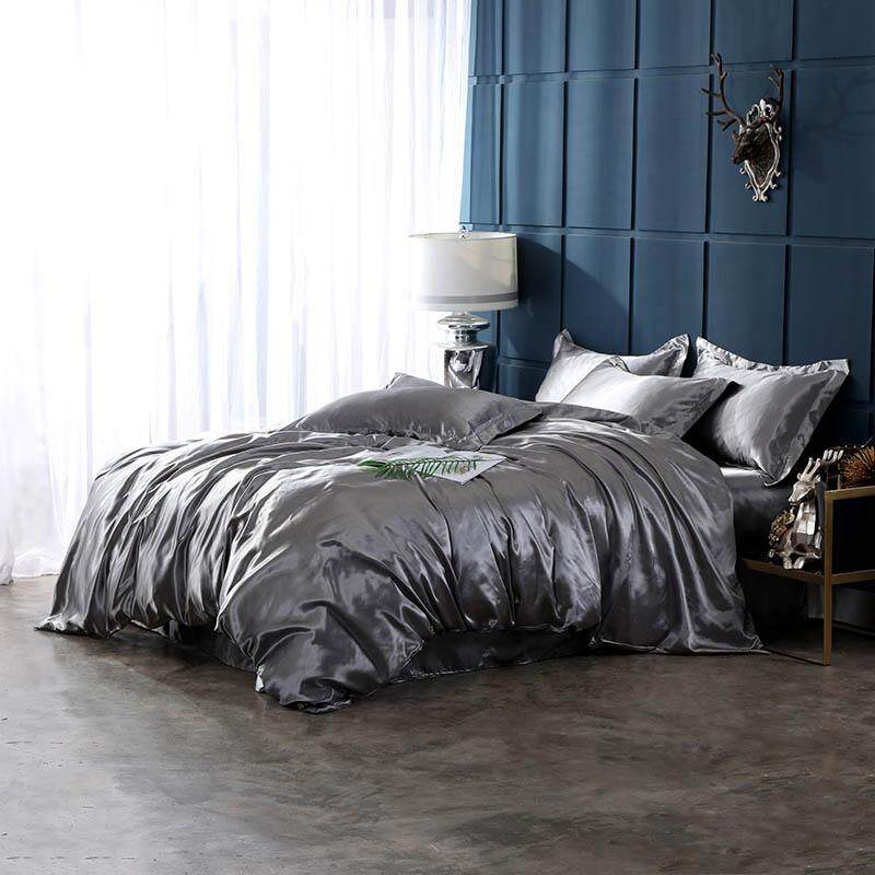 Well-known brand home textile washing ice silk bedding set of four 209-4503
