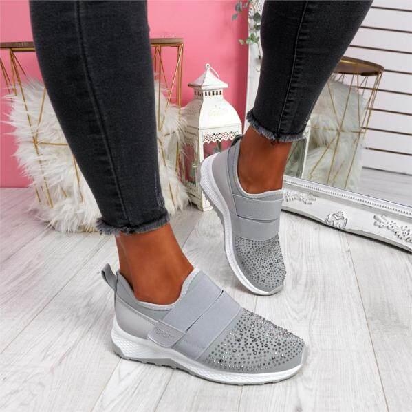 Giày Thể Thao Thoáng Khí Mùa Thu 2020 Giày Thể Thao Nữ Có Vòng Móc Giày Chạy Bộ Dành Cho Nữ Zapatos Mujer Tập Thể Dục Quần Vợt giá rẻ