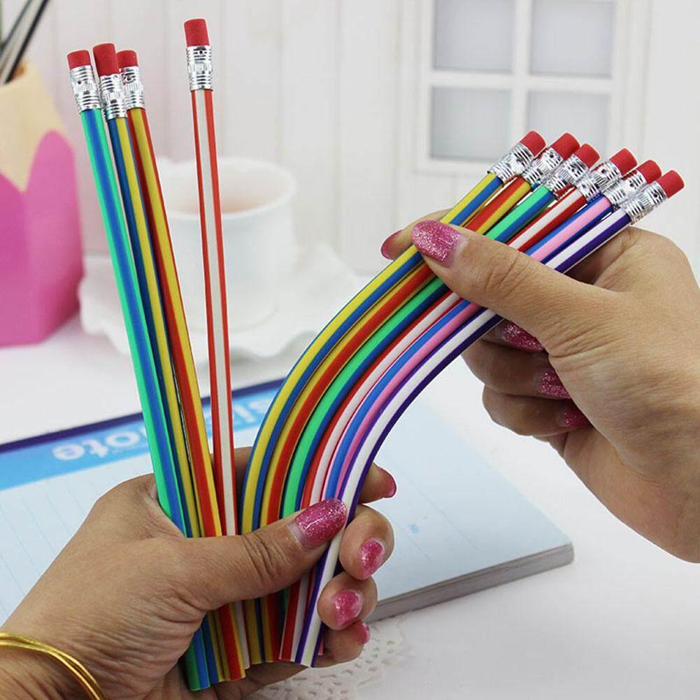 Pensil Mainan Ditekuk dan Lipat Pensil Lembut Yang Lembut Pensil Sihir Tidak Rusak Pena Tulis Pensil Mainan Dapat Dibengkokkan Lipat Pensil Lembut Sihir Ajaib Pensil Lembut pena Tulis
