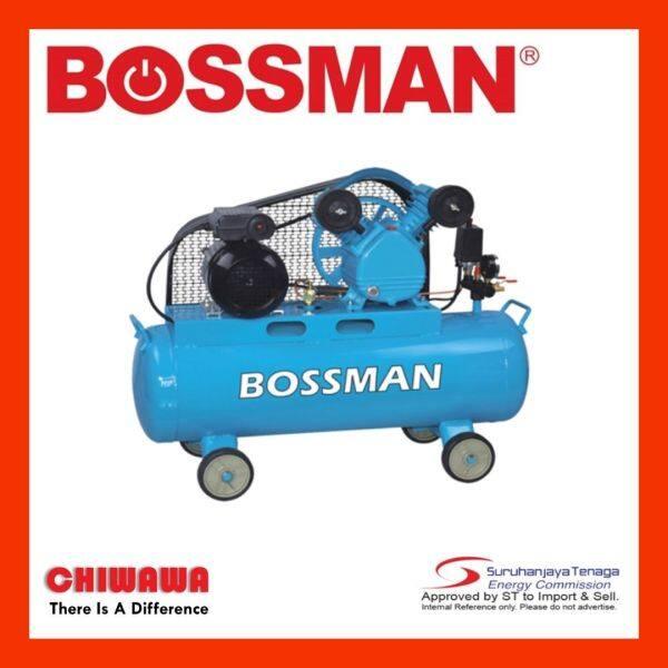 BOSSMAN BV017870 Belt-Driven Air Compressor 2.0/1.5kW
