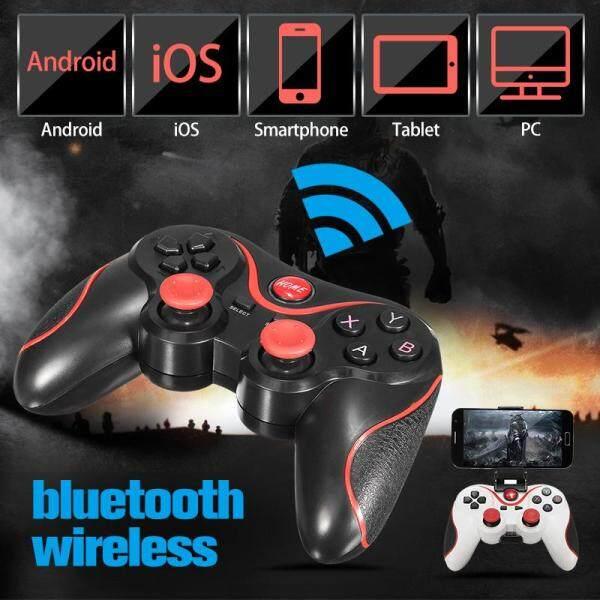 Mua Bộ Điều Khiển Chơi Game Bluetooth Không Dây Cho Máy Tính Bảng Điện Thoại Thông Minh Android # Đen-đen (Đen)