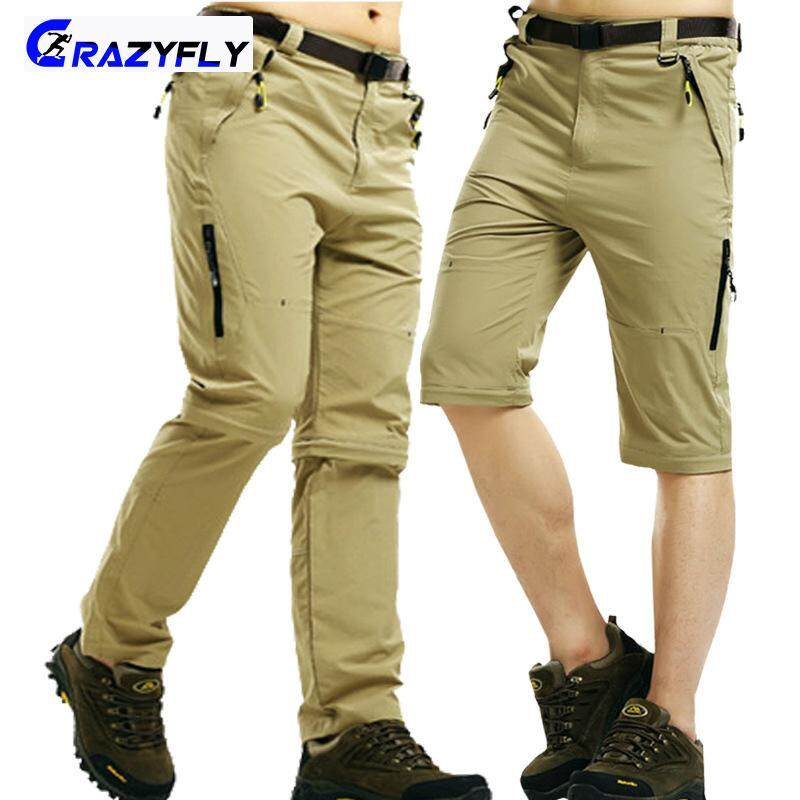 59acadc823 Crazyfly Men Athletic Quick Drying Pants Waterproof Outdoor Hiking ...