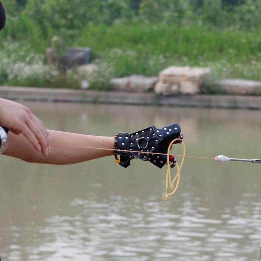 MNYY Phải Câu Cá Handguard Bắn Cá Vệ Găng Tay Bắn Găng Tay Fisher Phụ Kiện Đen - 4