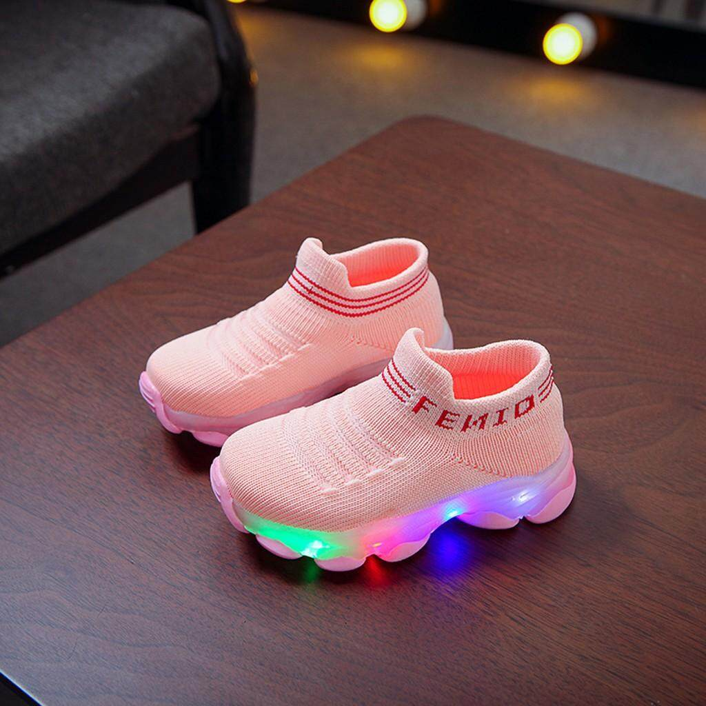 Bốt thể thao huadoaka cho bé gái, giày búp bê giày chạy bộ Giày thể thao mang thường ngày có...
