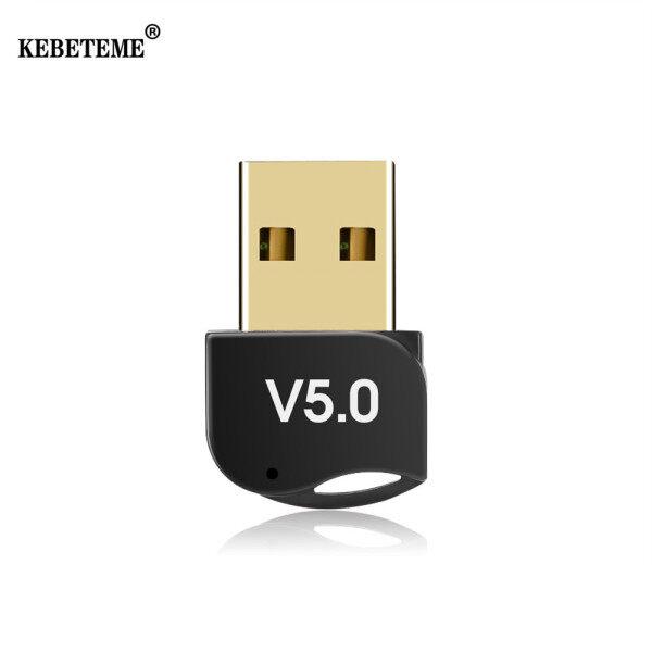 Bảng giá Kebeteme Bộ Chuyển Đổi USB Bộ Phát Bluetooth Không Dây Chế Độ Kép Bluetooth Dongle Âm Nhạc Receiver Adaptador Bluetooth V5.0 Adapter Phong Vũ
