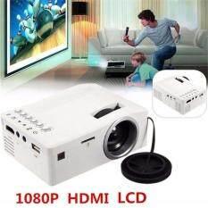 Máy Chiếu Mini Full HD 1080P, Đèn LED Rạp Chiếu Phim Gia Đình Đa Phương Tiện, Gia Đình, Cổng USB, AV HDMI