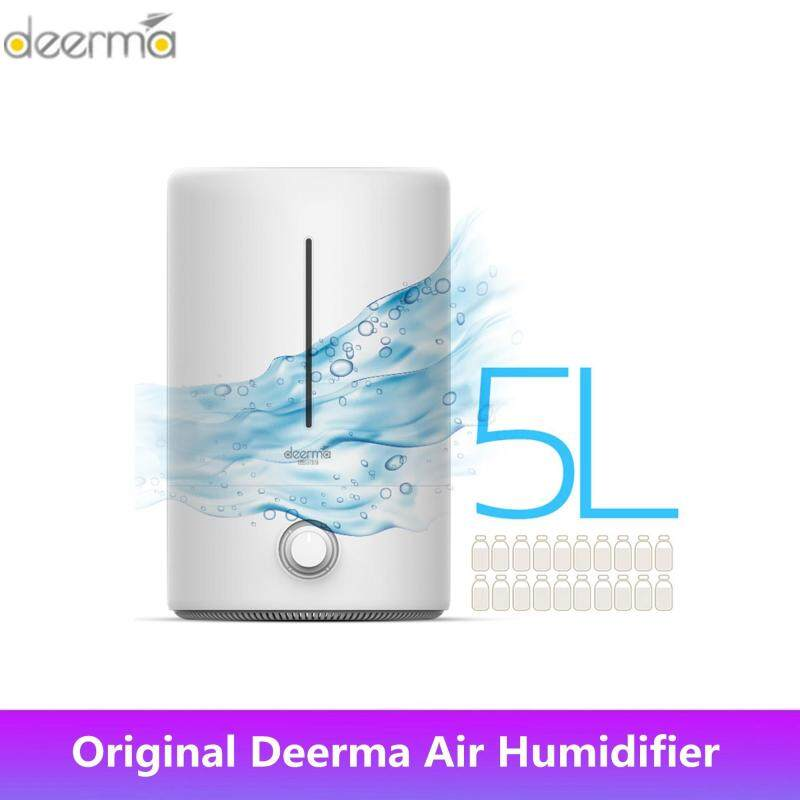 Original Xiao mi Ecosystem Deerma 5L Large Capacity Household Mute Air Humidifier for Baby Family Pregnant in Bedroom Office AC ON Air Purify Moisturizer F628 Singapore