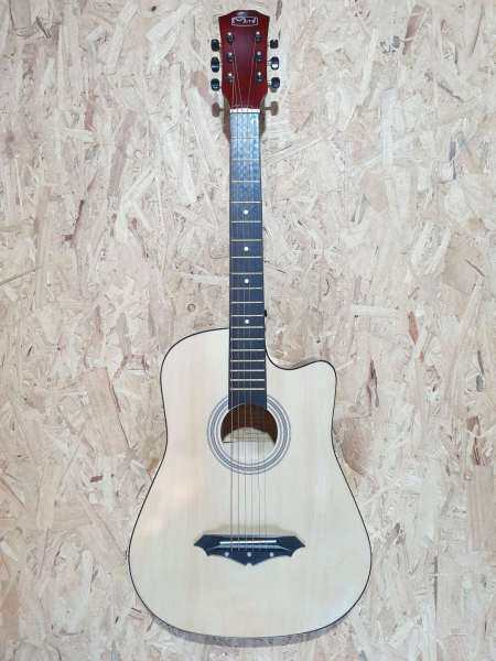 Mito MG-38 38 Inch Natural AC Acoustic Guitar # Taylor Yamaha F310 Ibanez Fender Gibson Epiphone Martin ESP Design Malaysia