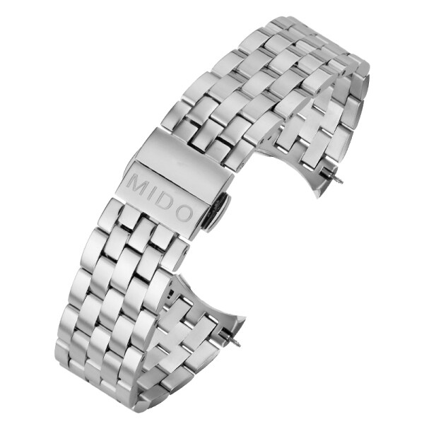 Mido Watch Band Steel Band Belen Cyrel Series M8600 Male M7600 Female 15mm Original Steel Bracelet Accessories 20mm Malaysia