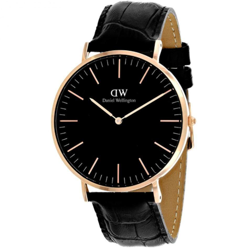 ad35e1b67586 Pre Daniel Wellington DW00100129 Classic Black Reading Horloge 40mmWatch- Black