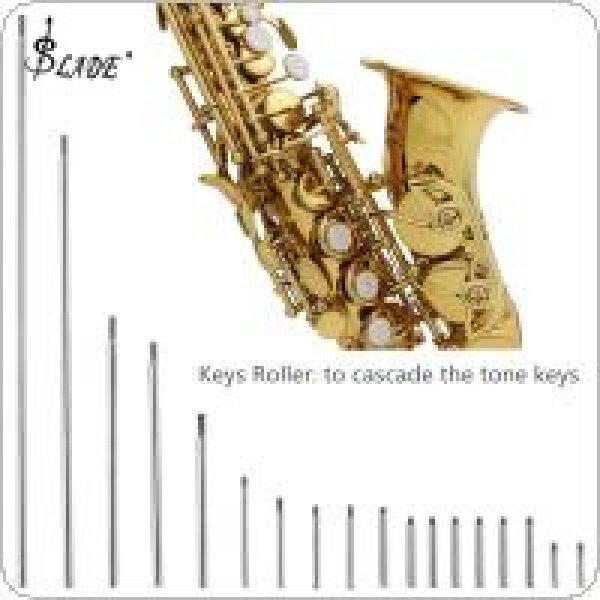 SLADE 92pcs/lot Saxophone Repair Parts Set Complete Tools Saxophone Key Roller Reed Screws Needle Wind Instrument Repair Kit Malaysia