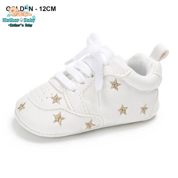 1 Đôi Giày Trẻ Em Trẻ Em, Đi Bộ Đầu Tiên, Tìm Hiểu Thời Trang Thoáng Khí Dành Cho Thể Thao 0-18 Tháng giá rẻ