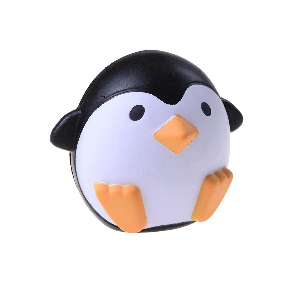 Squishy Penguin Squeeze Stretch Soft Slow Rising Restore Fun Squishy Toy Gift