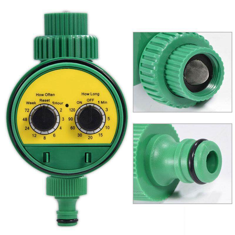 Aolvo Automatic Watering Irrigation Programmable Controller - Agricultural Use & Garden Automatic Watering Timer Device