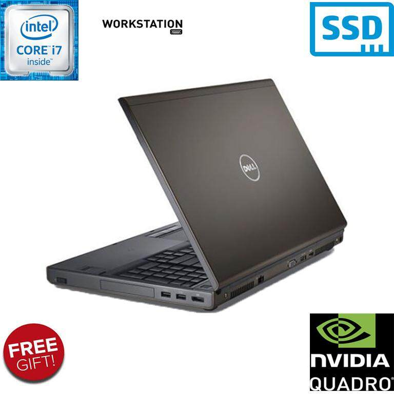 DELL PRECISION M4800 WORKSTATION [CORE i7 - 4900MQ / 32GB RAM / 256GB SSD STORAGE / 2GB NVIDIA QUADRO K2100M GRAPHICS / 1 YEAR WARRANTY] Malaysia