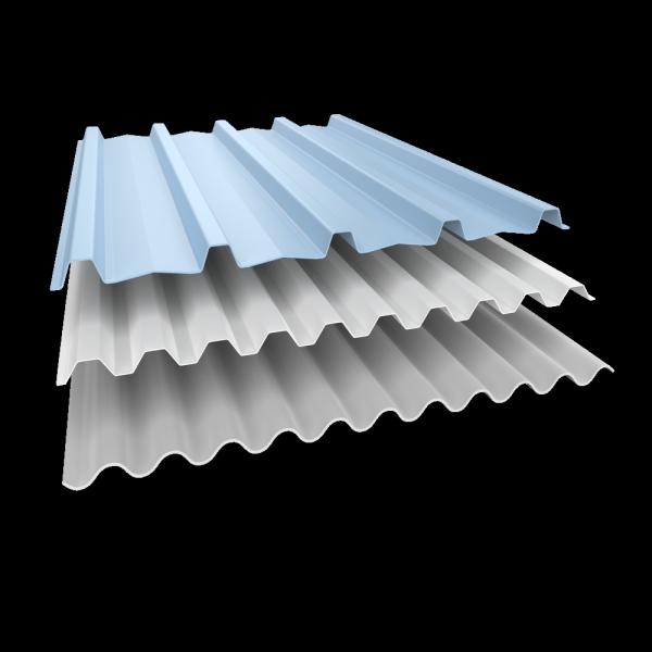 ALDERON Premium Corrugated Vinyl Roofing Sheet (GRECA & TRIMDEK) MATT WHITE