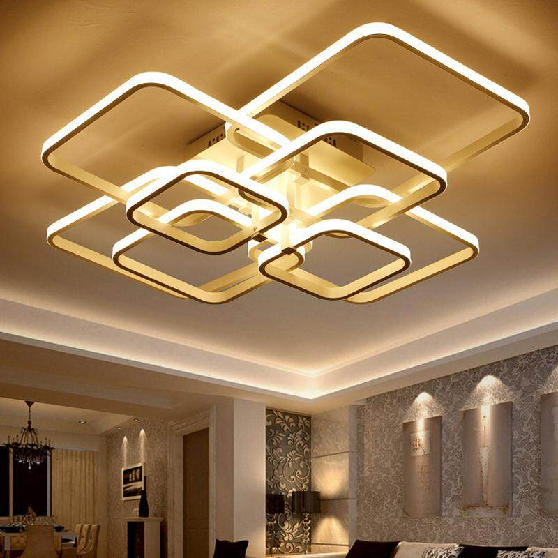 Ceiling Lights Ceiling Lights & Fans Modern Minimalist Stainless Steel Led Crystal Ceiling Lamp Living Room Bedroom Creative Crystal Lamps And Lanterns Led Lighting Street Price