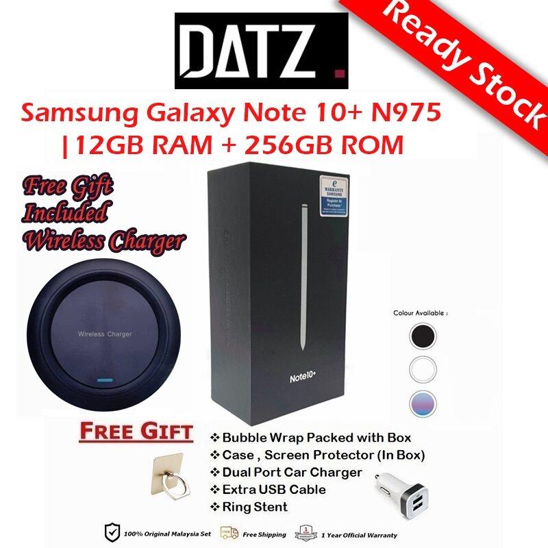 Samsung Galaxy Note 10+ N975 (12GB RAM + 256GB ROM) Original Samsung Malaysia Warranty