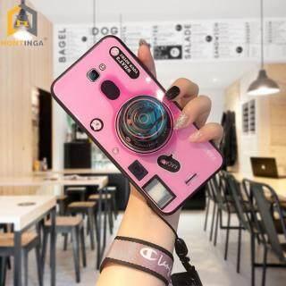 Ốp Lưng Hontinga Cho Samsung J7 Prime Ống Kính Máy Ảnh 3D Dây Đeo Đôi có Giá Đỡ Mặt Kính Cường Lực Trơn Tru - INTL thumbnail
