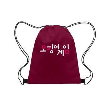 ZHUAFENGXI Có thể giặt được Có thể tái sử dụng Cầm tay Thời trang Vùng lân cận In màu 3D Trò chơi câu mực Túi dây rút thumbnail