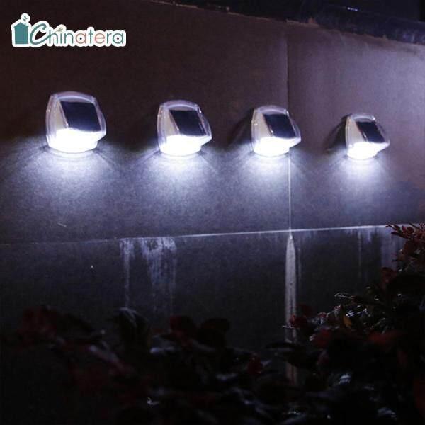 [Chinatera] 8 Đèn Tường Năng Lượng Mặt Trời Đèn Vườn Ngoài Trời Đèn Trang Trí Sân Nhỏ