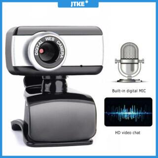 JTKE Webcam Kỹ Thuật Số USB 50M Mega Pixel Camera Xoay Phong Cách, Camera Web HD Có Kẹp Micro Dành Cho Máy Tính Xách Tay Máy Tính Xách Tay Máy Tính Xách Tay thumbnail