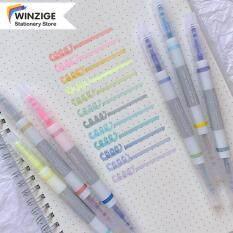 Winzige Bộ Tô Sáng 12 Màu, 6 Cái 3 Cái Bút Đánh Dấu Morandi Macaron Đồ Dùng Học Tập