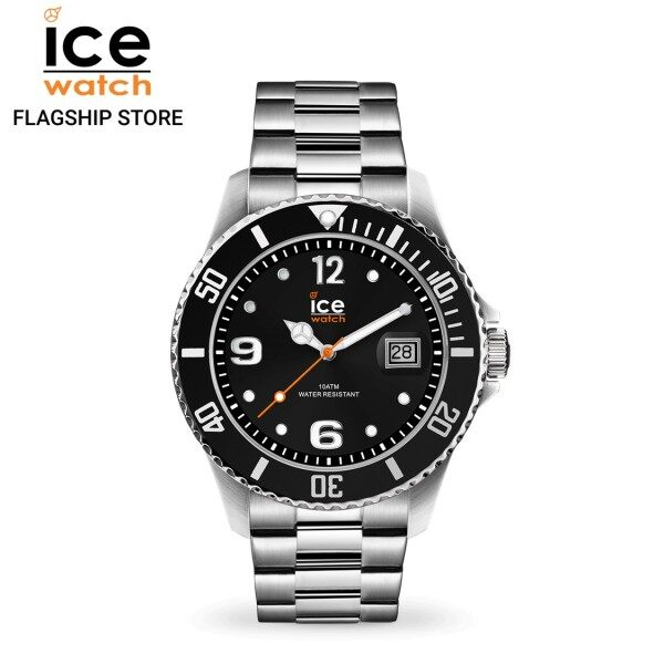 Ice-Watch ICE steel - Black silver (Large) Malaysia