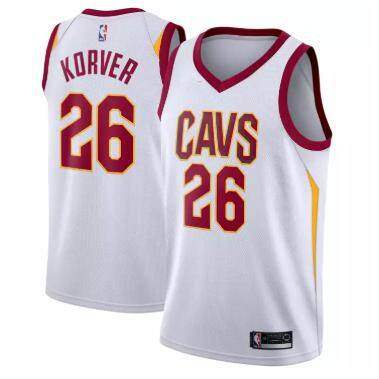 NBA Small Association Edition White For Man NO.26 Cleveland Cavaliers Swingman Jersey Basketball Clothes Kyle Korver Official Soft