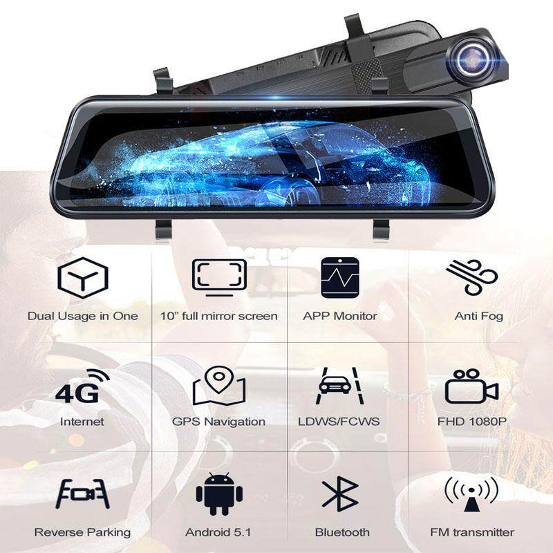 Car Mirror Dash Cam Rubber Suitable for Mirror Dash Cam and Most Other Car DVR Mounting Straps Dash Cam 1 Pack