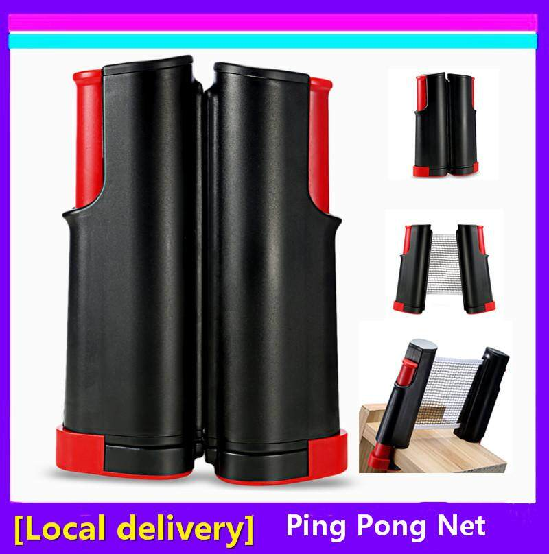 [local Delivery] Retractable Table Tennis Ping Pong Net Replacement Set Ping Pong Games Kit (my) By Enrich Your Life.