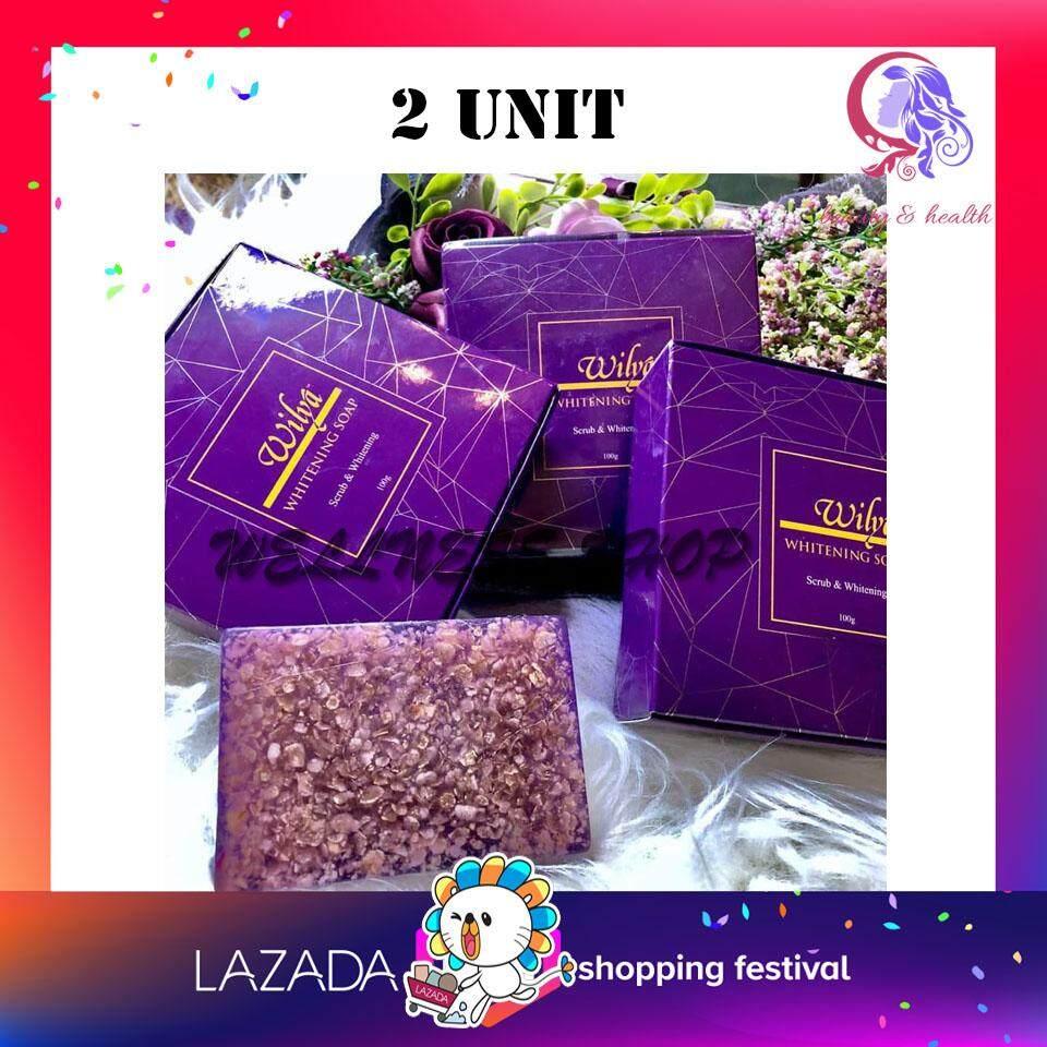 2 UNIT -Wilya Whitening Magic Soap PUTIH & Hilang Daki 100% ORIGINAL HQ - BEST BUY!