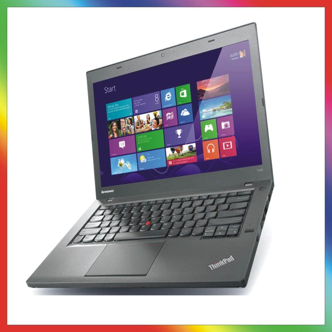 LENOVO THINKPAD T440 ULTRABOOK - CORE i5/ 8GB/ 500 GB HDD/ WINDOWS 10 PRO [1 YEAR WARRANTY] Malaysia