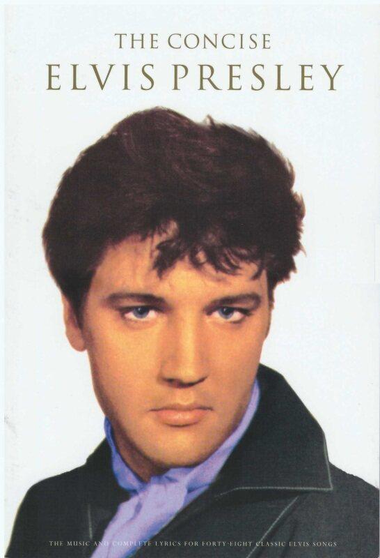 The Concise Elvis Presley (25Cm X 17CM) / Music Book / Guitar Book / Guitar Chord Book / Song Book / Voice Book Malaysia