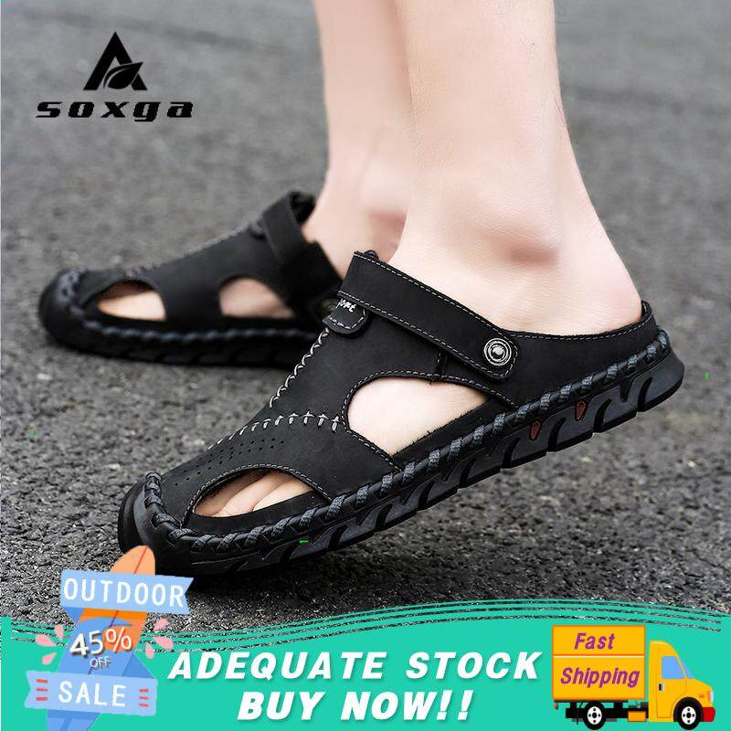 Adidas slippers male authentic 2019 summer beach casual