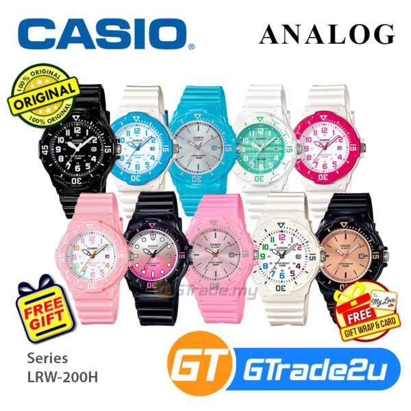 Casio Women Kids LRW-200H Analog Watch Fashionable Diver design Various Colors Malaysia