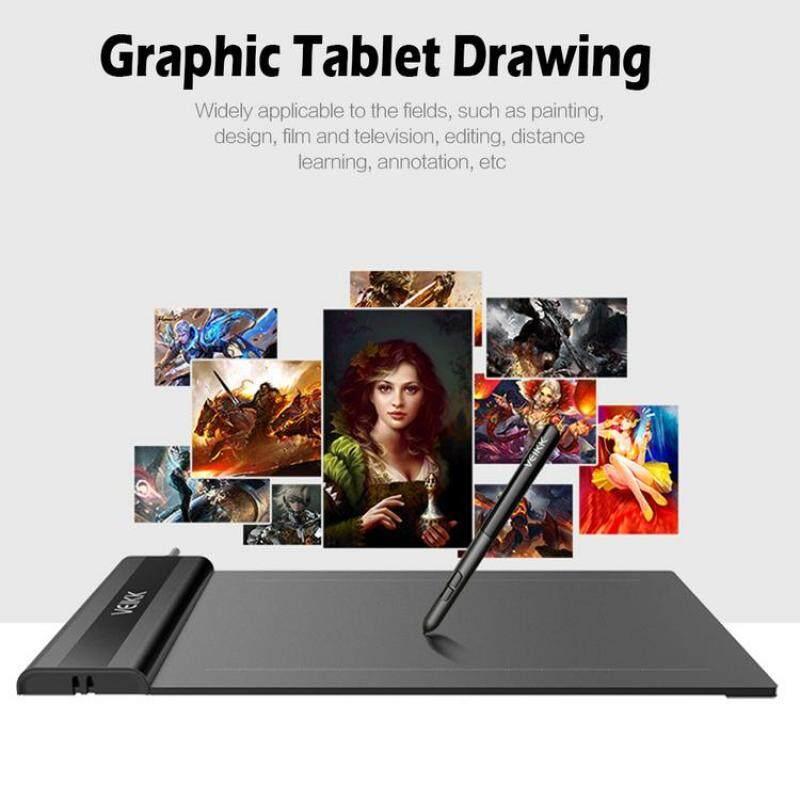 Bảng giá Veikk S640 6X4 Inch 5080Lpi Đồ Họa Máy Tính Bảng Vẽ Miếng Lót Với Bút Kỹ Thuật Số Phong Vũ