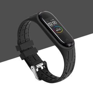 Silicone Thông Minh Watchband, Dây Đeo Cho Xiaomi Mi Band 5 Mi Band3 Dây Đeo Đồng Hồ Thể Thao Dây Đeo Thay Thế Dành Cho Mi Band 4 5 Dây Đeo Cổ Tay thumbnail