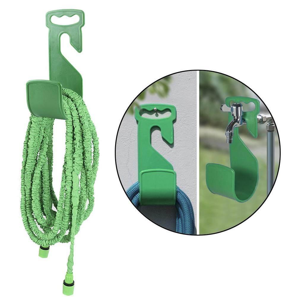 Hose Holder Green Hook Rack Portable Wall Mounted Durable Home Storage Expandable Garden ABS Flexible Hanger