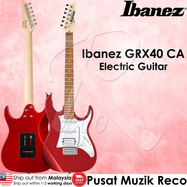Ibanez GRX40 CA Electric Guitar with Tremolo Candy Apple Malaysia
